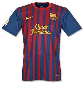 FC Barcelona Trikot 2011/2012