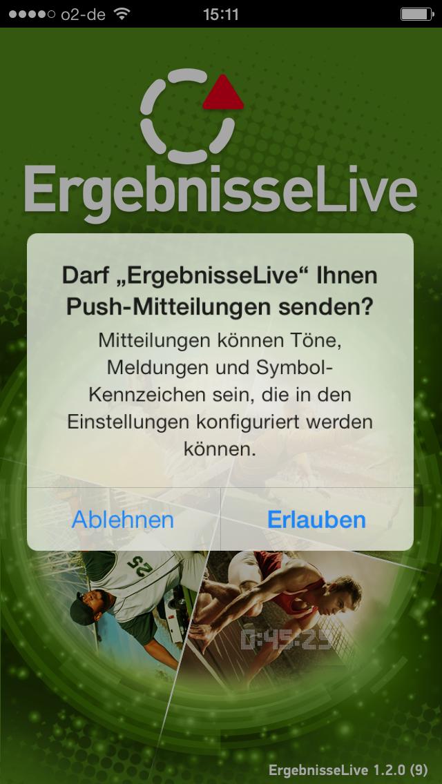 Live Ergebisse