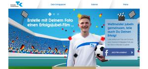 Aktionen zur WM 2014 von der TK